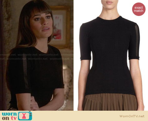 Rag & Bone Elsa Top worn by Lea Michele on Glee