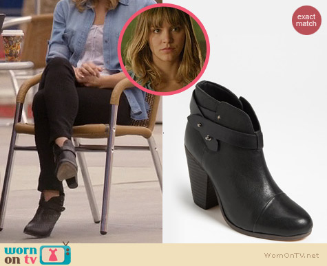 Rag & Bone Harrow Booties worn by Katharine McPhee on Scorpion