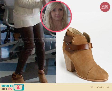 Rag & Bone Harrow Boots in Camel worn by Sarah Michelle Gellar on The Crazy Ones