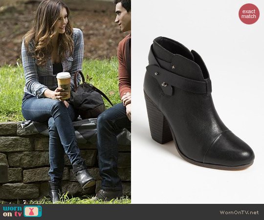 Rag & Bone Harrow Bootie worn by Nina Dobrev on The Vampire Diaries