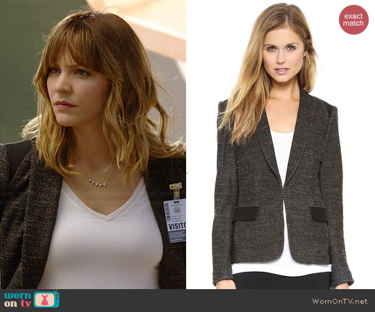 Rag & Bone Howard Blazer worn by Katharine McPhee on Scorpio