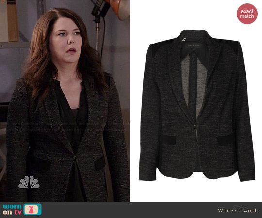 Rag & Bone Howard Blazer worn by Lauren Graham on Parenthood