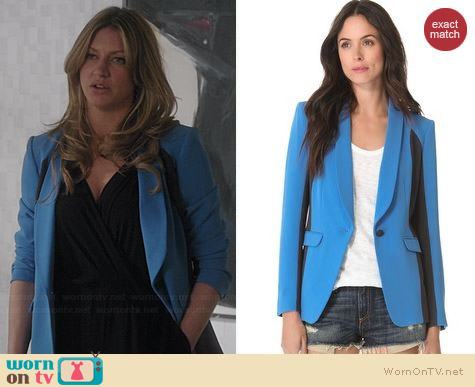 Rag & Bone Jefferson Blazer worn by Jess Macallan on Mistresses