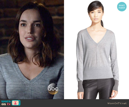 Rag & Bone Jessica Sweater worn by Elizabeth Henstridge on Agents of SHIELD