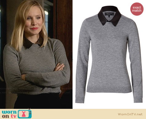 Rag & Bone Kayla Sweater worn by Kristen Bell on House of Lies