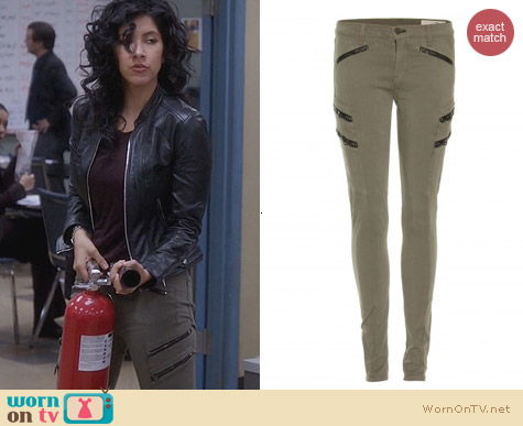 Rag & Bone Lariat Jeans worn by Rosa on Brooklyn99