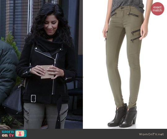 Rag & Bone Lariat Jeans worn by Stephanie Beatriz on Brooklyn 99