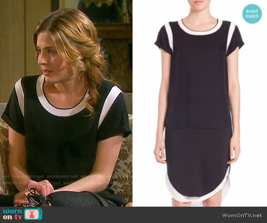 Rag & Bone Magda Tee worn by Jen Lilley on Days of our Lives