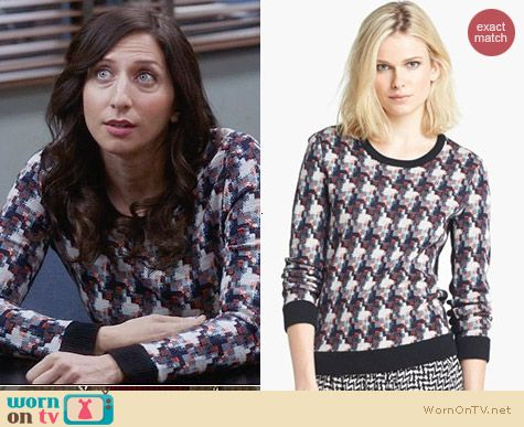 Rag & Bone Mariah Sweater worn by Chelsea Perretti on Brooklyn 99