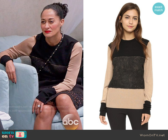 Rag & Bone Marissa Sweater worn by Tracee Ellis Ross on Blackish