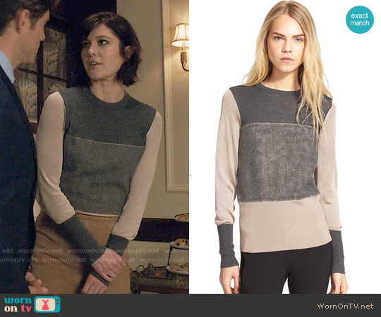 Rag & Bone Marissa Sweater worn by Mary Elizabeth Winstead on BrainDead