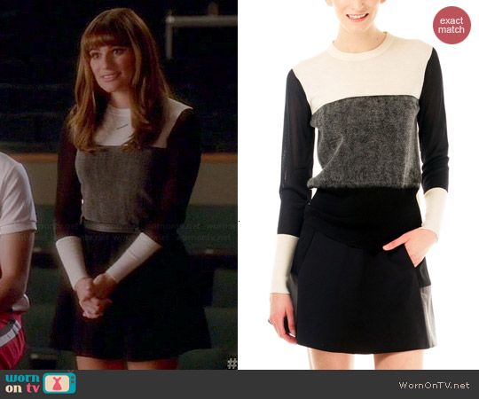 Rag & Bone Marissa Sweater worn by Lea Michele on Glee
