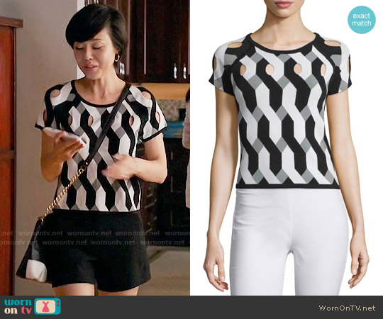 Rag & Bone Olympia Top worn by Yunjin Kim on Mistresses