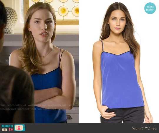 Rag & Bone Patti Camisole worn by Willa Fitzgerald on Scream