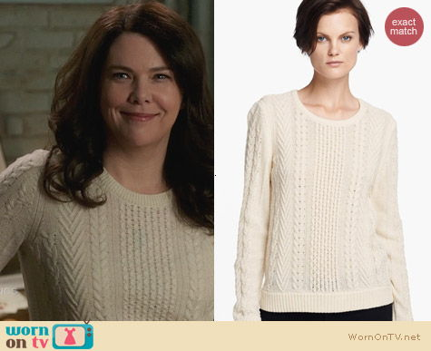 Rag & Bone Peyton Sweater worn by Lauren Graham on Parenthood