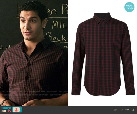 Rag & Bone The Stock Shirt worn by Elyes Gabel on Scorpion
