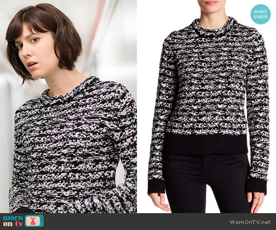 Rag & Bone Viola Knit Sweater worn by Mary Elizabeth Winstead on BrainDead