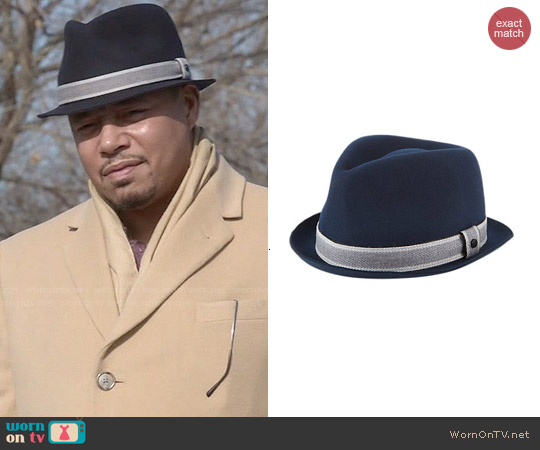 Rag & Bone Wool Trilby worn by Terrence Howard on Empire