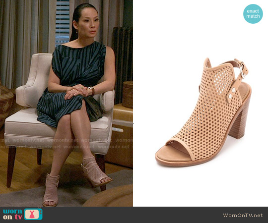 Rag & Bone Wyatt Sandals worn by Joan Watson on Elementary