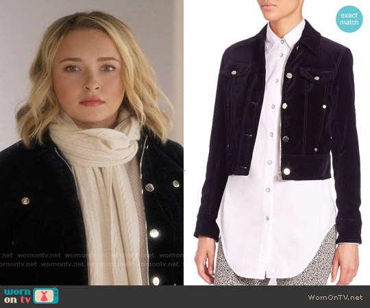 Rag & Bone Ziggy Jacket worn by Hayden Panettiere on Nashville