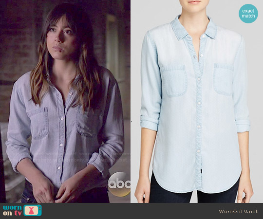 Rails Carter Shirt worn by Chloe Bennet on Agents of SHIELD