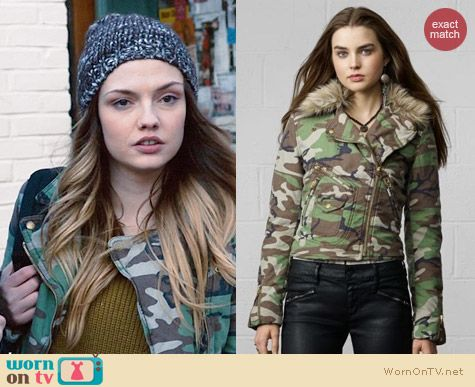 Ralph Lauren Denim & Supply Camo Jacket worn by Emily Meade on The Leftovers