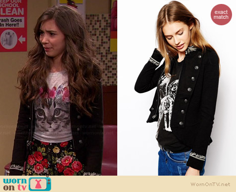 Ralph Lauren Denim & Supply Military Jacket worn by Rowan Blanchard on Girl Meets World
