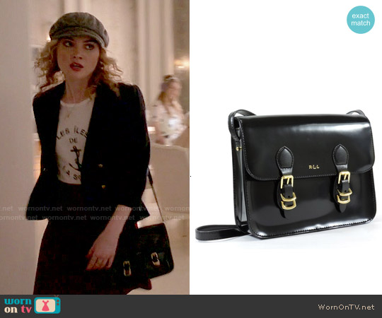 Ralph Lauren Winford Messenger Bag worn by Grace Gardner on Scream Queens