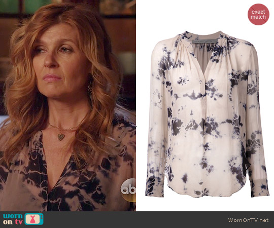 Raquel Allegra Tie Dye Shirt worn by Connie Britton on Nashville