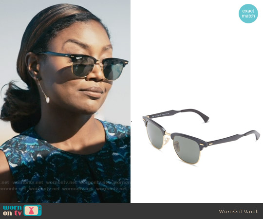 Ray Bay 'Clubmaster' Polarized Sunglasses worn by Daisy Grant on Madam Secretary