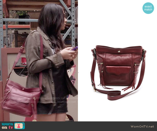 Rebecca Minkoff Dexter Bucket Bag worn by Emily Fields on PLL