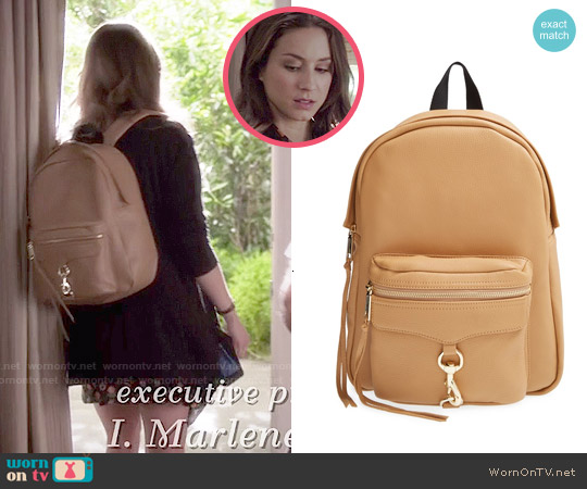 Rebecca Minkoff MAB Backpack worn by Spencer Hastings on PLL