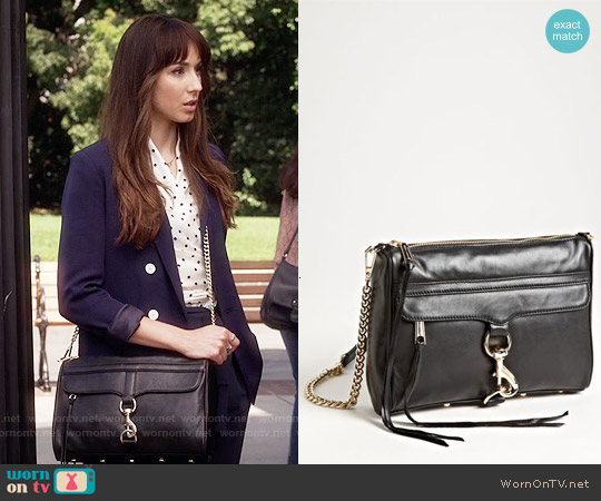 Rebecca Minkoff MAC Convertible Crossbody Bag worn by Spencer Hastings on PLL