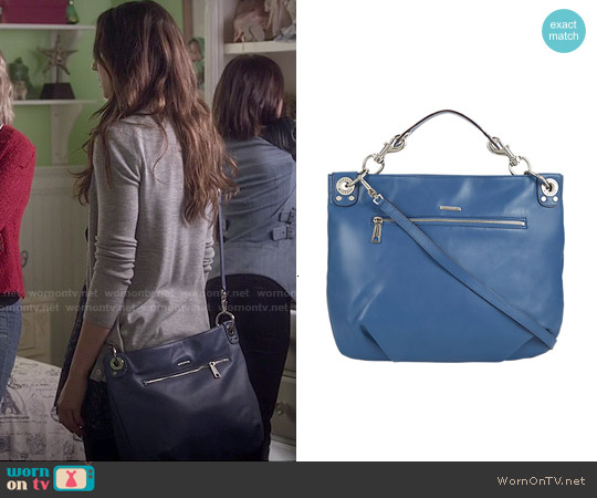 Rebecca Minkoff Mini Luscious Hobo worn by Spencer Hastings on PLL