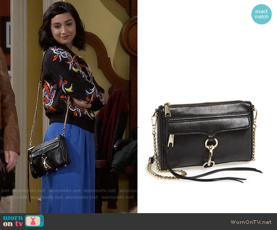 Rebecca Minkoff Mini Mac Crossbody worn by  Molly Ephraim on Last Man Standing