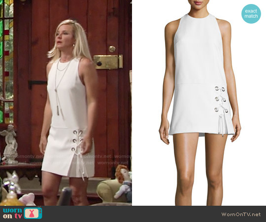 Rebecca Minkoff Silva Dress worn by Sharon Case on The Young & the Restless
