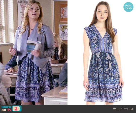 Rebecca Taylor Dreamweaver Dress worn by Sasha Pieterse on PLL