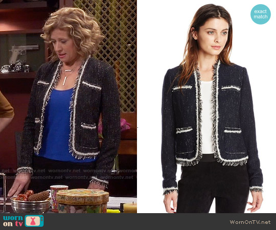 Rebecca Taylor Rio Jacket worn by Nancy Travis on Last Man Standing