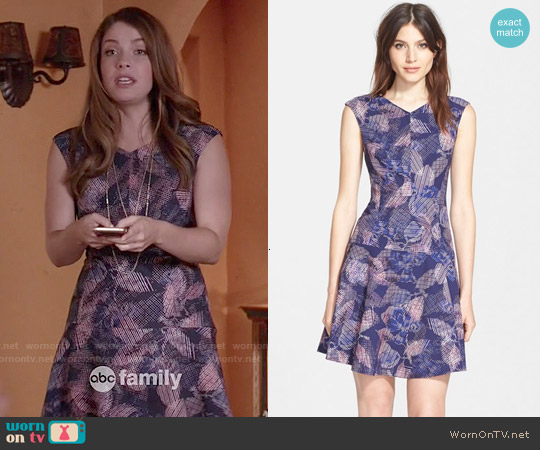 Rebecca Taylor Sonic Garden Dress worn by Paige Spara on Kevin from Work