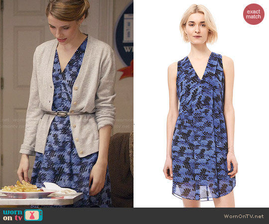 Rebecca Taylor Summer Storm Dress worn by Wallis Currie-Wood on Madam Secretary