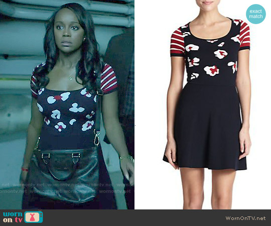RED Valentino Summer Leo Knit Dress worn by Aja Naomi King on HTGAWM