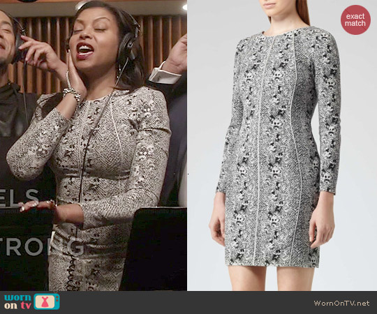 Reiss Fion Snake Dress worn by Taraji P. Henson on Empire