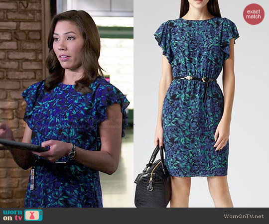Reiss Garland Dress worn by Michaela Conlin on Bones