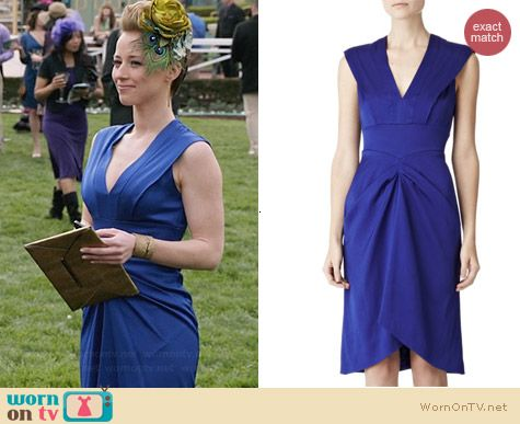 Reiss Olga Dress worn by Karine Vanasse on Revenge