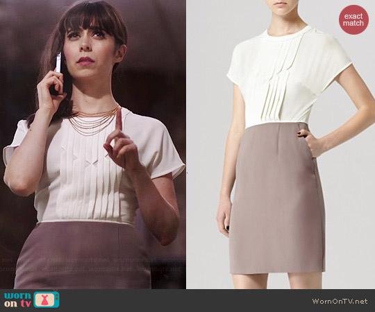 Reiss Valentin Dress worn by Cristin Milioti on A to Z