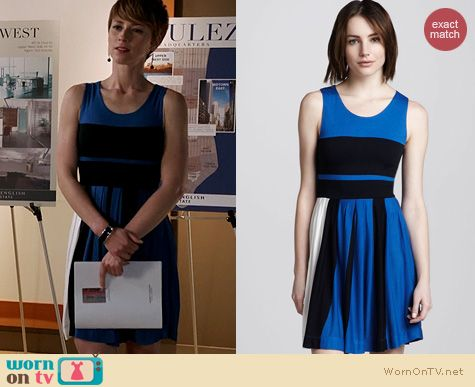 Revenge Fashion: French Connection Fast Mia Dress worn by Karine Vanasse