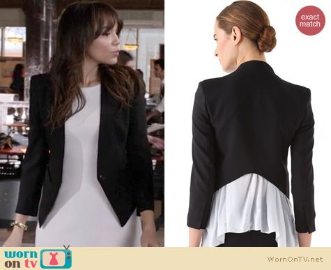 Revenge Fashion: Helmut Lang Tuxedo blazer worn by Ashley Madekwe
