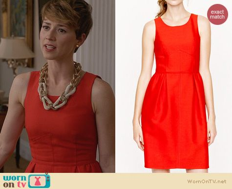 Revenge Fashion J Crew Allie Dress Worn By Margaux