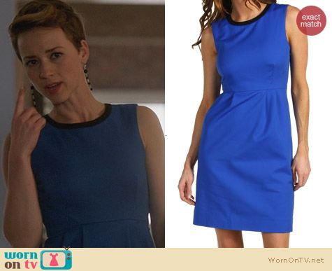 Fashion of Revenge: Kate Spade Arie Dress worn by Karine Vanasse