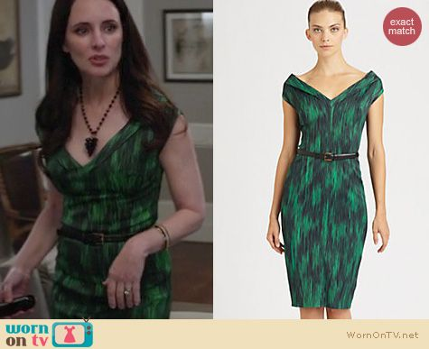 Revenge Fashion: Michael Kors Cady dress worn by Madeleine Stowe